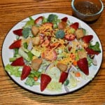 Chicken Salads with Strawberries and Soy Vinaigrette #TheSaladBar