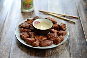 Game Day with Tyson Deli Wings and Dipping Sauce!