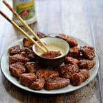 #ad Game Day with Tyson Deli Wings and Dipping Sauce!