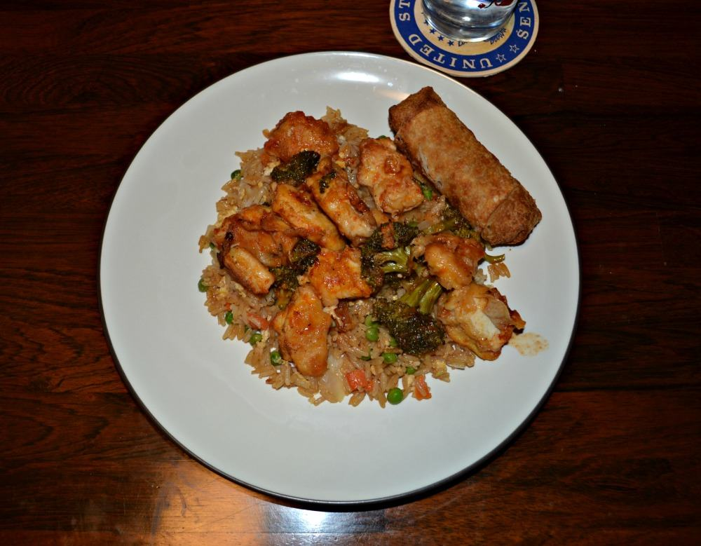 Chinese Take Out Fried Rice at home