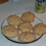 Snickerdoodles with Almond Flour (gluten free)
