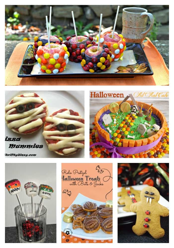 Halloween Recipes that Kids can help make!