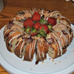Lemon Berry Bundt Cake #Bundtamonth