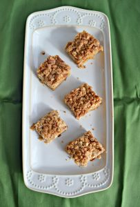 Brown Butter and Pear Blondies