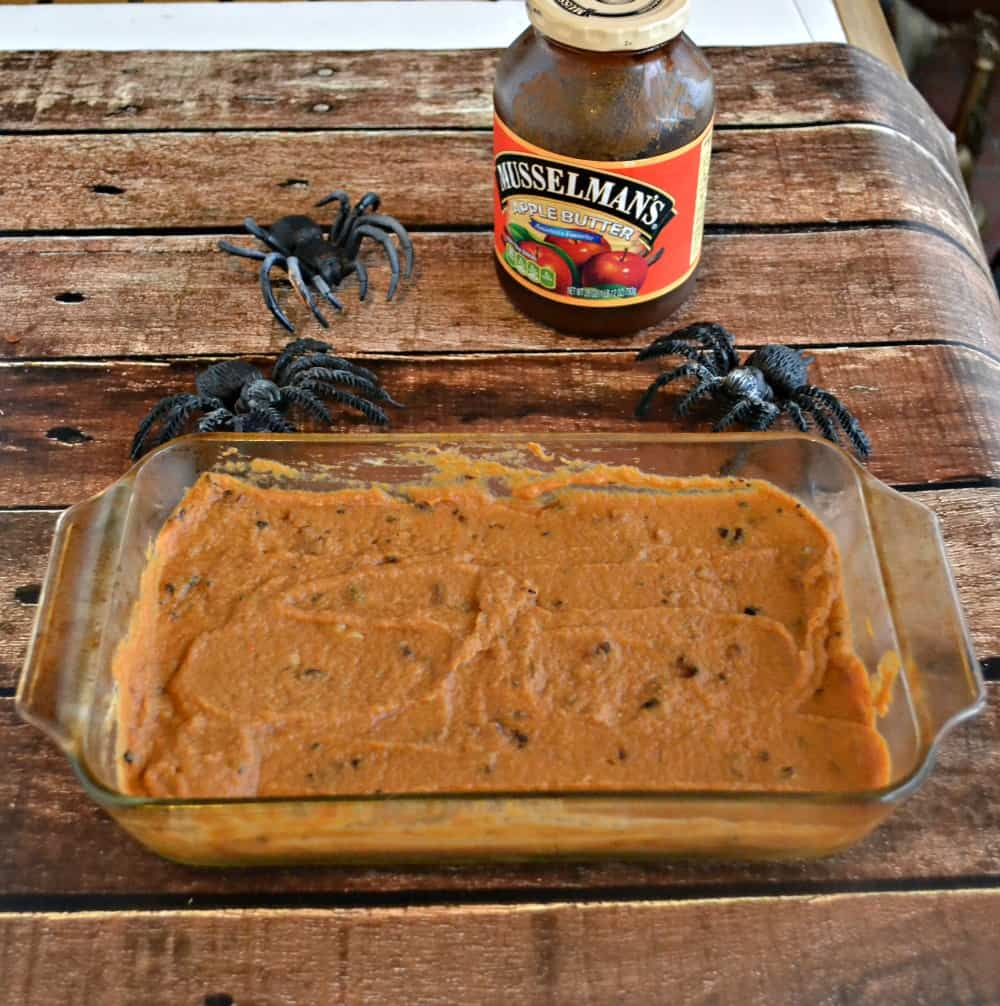 Delicious Warm Pumpkin Walnut Dip is great for appetizer or dessert