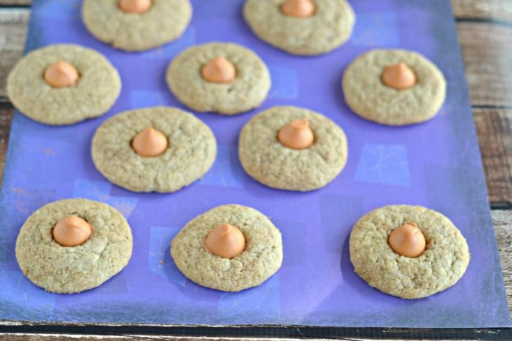 Pumpkin Kisses in Chai Cookies