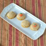 Pumpkin Cookies with Brown Butter Frosting:  What's Baking?