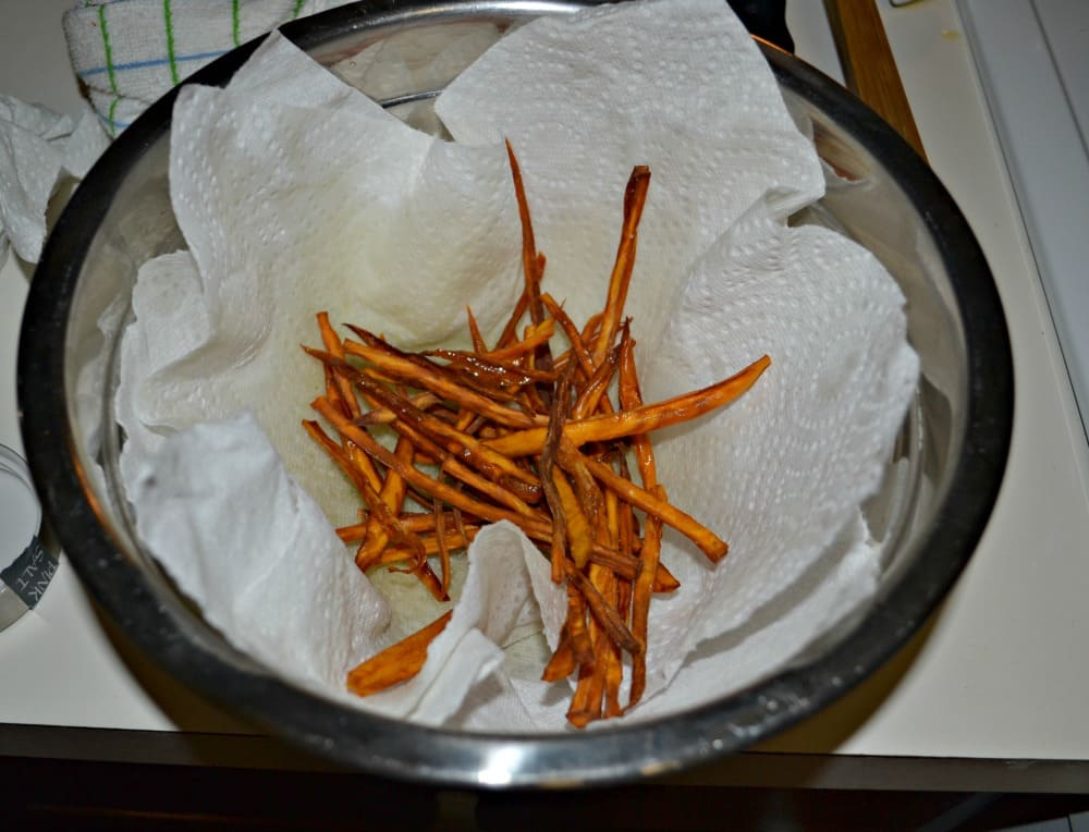 Delicious and easy to make Sweet Potato Fries