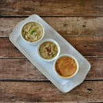Trio of Hummus:  Easy appetizer idea