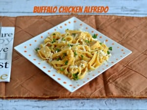 Buffalo Chicken Alfredo #WeekdaySupper