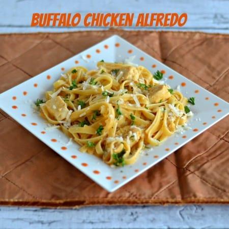 Buffalo Chicken Alfredo: Easy Weeknight Meal!