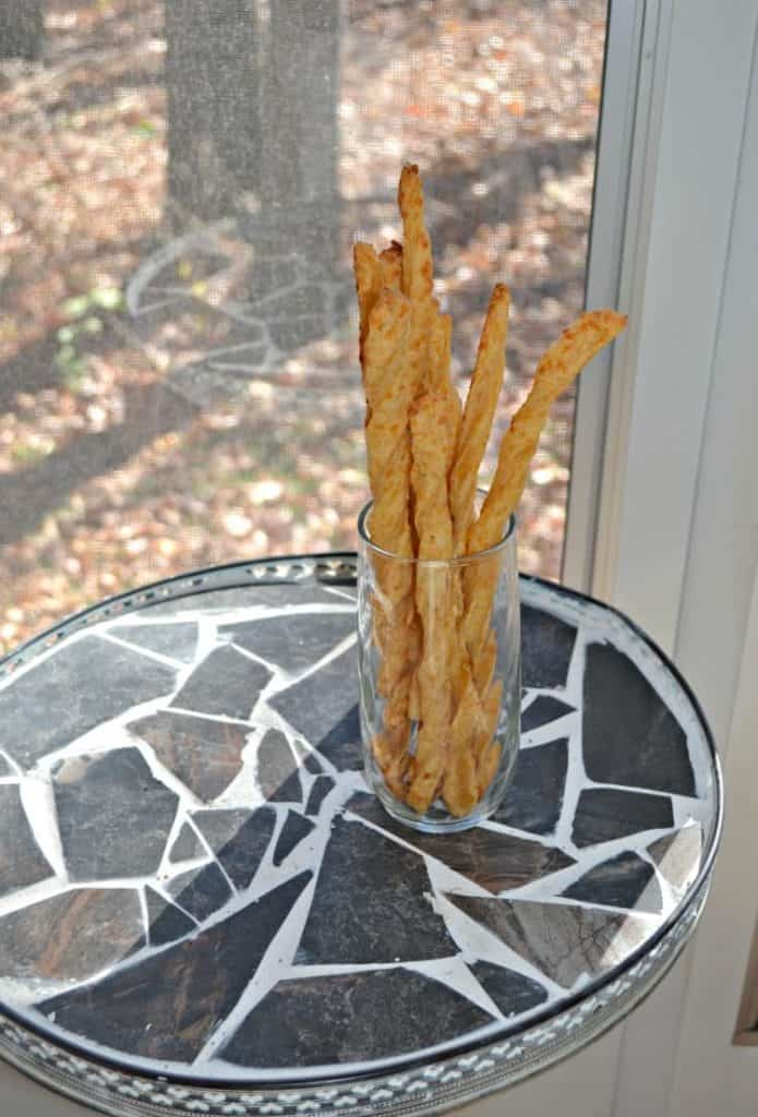 Cheese Straws are an easy and delicious appetizer or snack.
