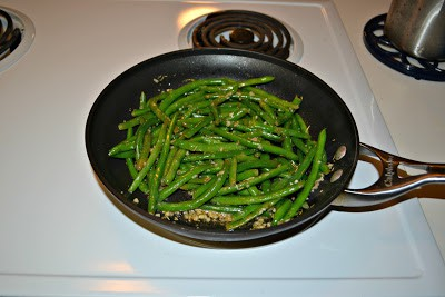Green Beans with Rosemary Garlic Butter