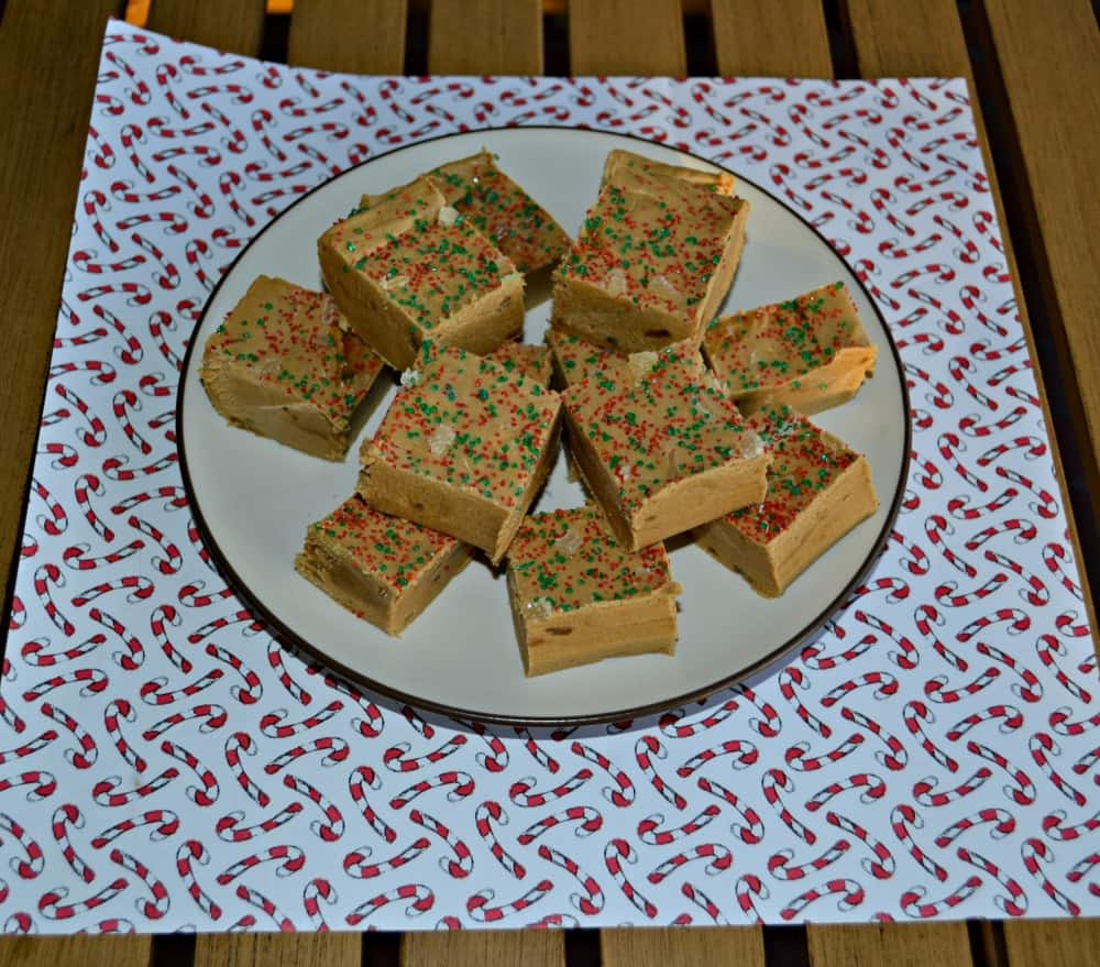 Fun and delicious Gingerbread Fudge is perfect for the holidays