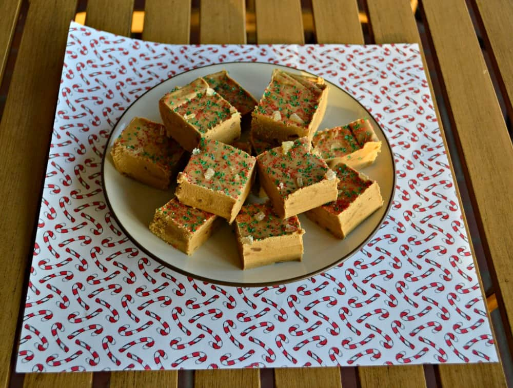 Gingerbread Fudge is perfect for the holidays!