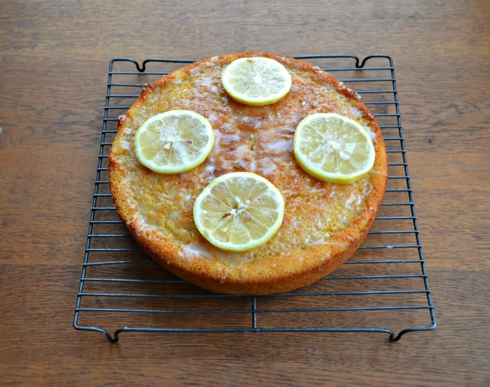 Gluten Free Lemon Cake with a very special secret ingredient