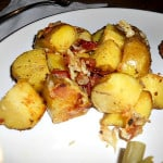 Oven Roasted Potatoes with Bacon and Cheese