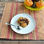 Baked Pumpkin Spice Oatmeal + review of Cocozia Coconut Oil