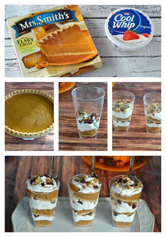 How to make an easy Pumpkin Pie Parfait