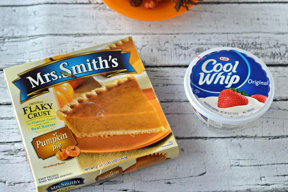 Mrs. Smith's pies and Kraft Cool Whip are the perfect holiday pair.