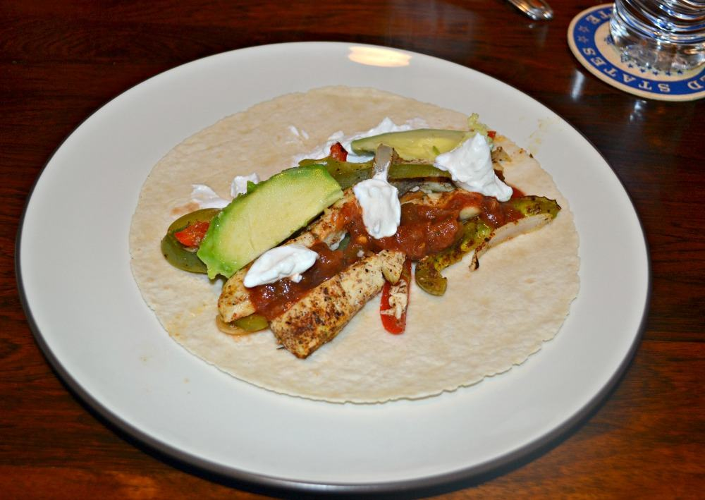 Roasted Chicken and Vegetable Fajitas