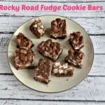 Rocky Road Cookie Fudge Bars + a review of Dessert Mash-Ups