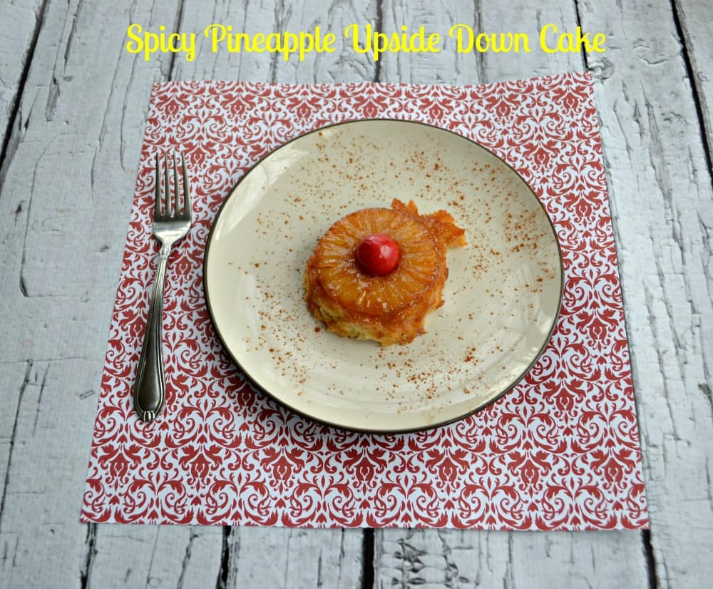 Spicy Pineapple Upside Down cakes are sweet, a touch smoky, with just a little bit of heat.