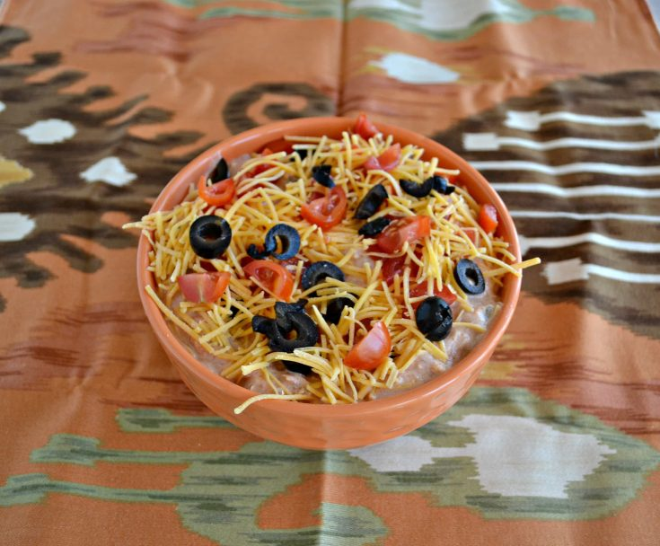 Taco Dip is a quick and easy appetizer that everyone will love!
