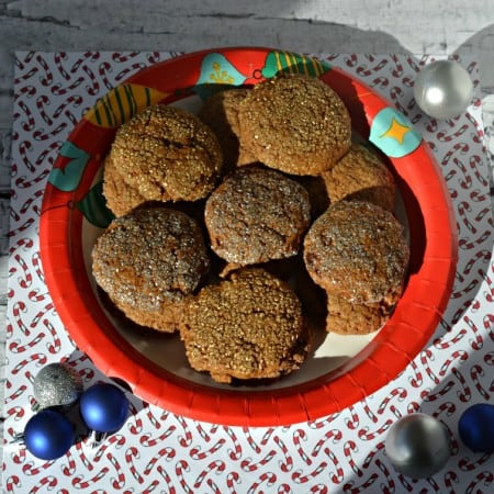 Vegan Ginger Cookies with Cardamom