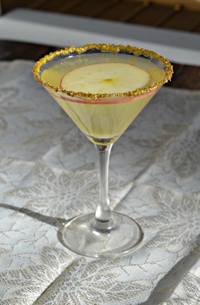 Glittering Gold Rimmer Apple Ginger MArtinis