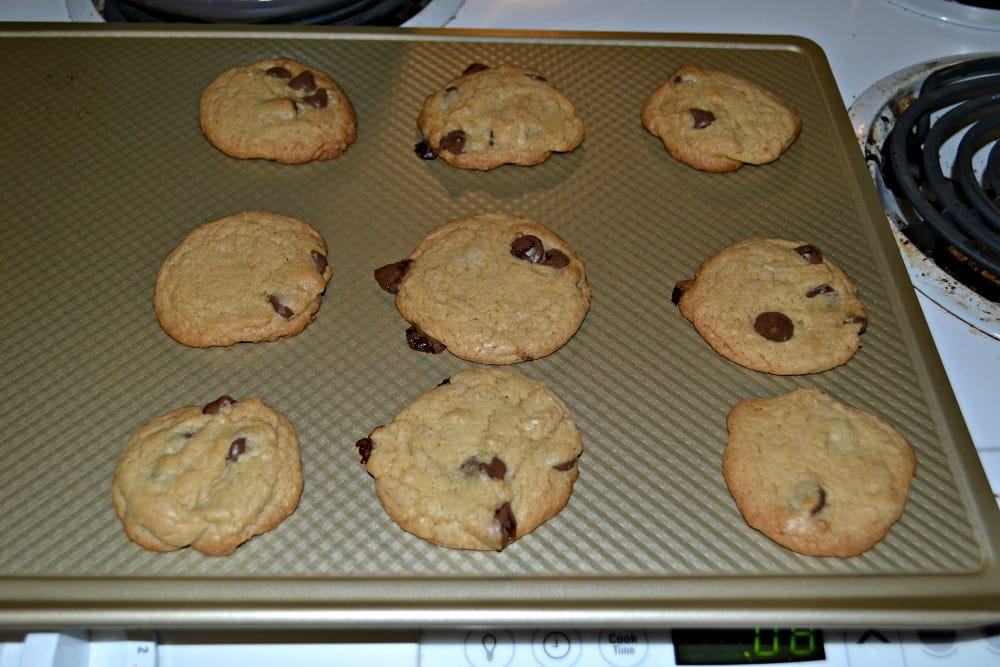 Brown Butter Salted Carmale and Chocolate Cookies