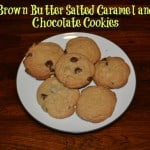 Brown Butter Salted Caramel and Chocolate Cookies