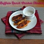 Buffalo Ranch Chicken Tenders #LoveMyCereal