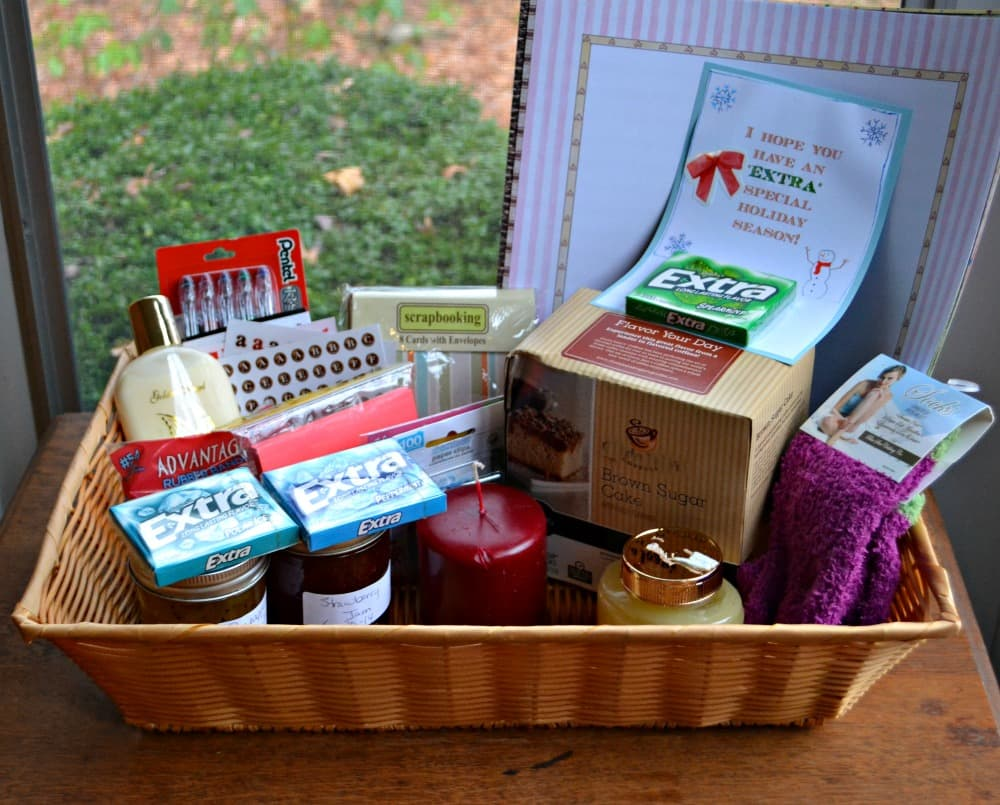 An Extra Special holiday gift basket