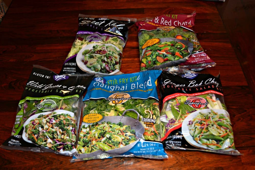 Eat Smart Salad and Stir Fry Kits