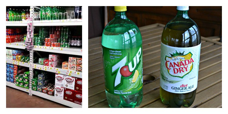 7UP and Canada Dry Ginger Ale make fabulous holiday cocktails and mocktails