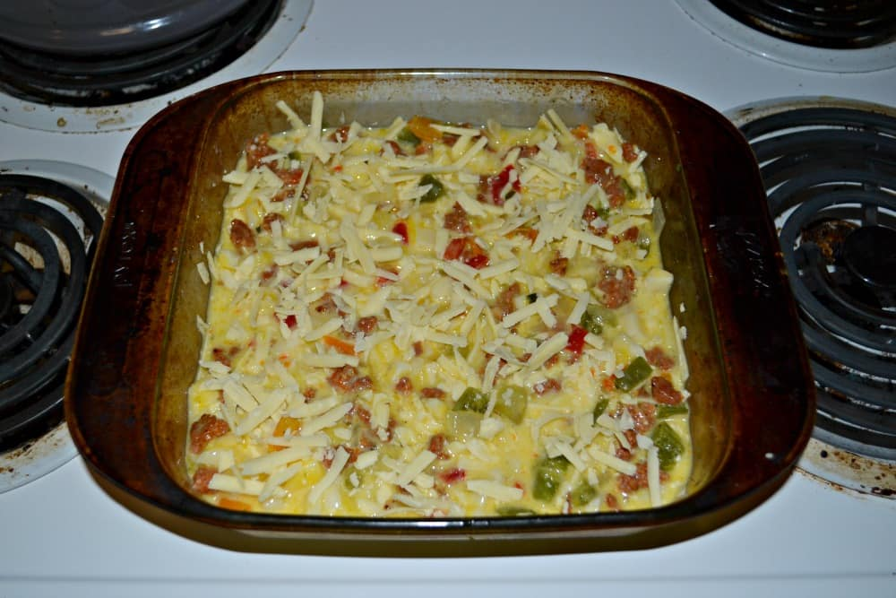 Easy to make Breakfast Casserole