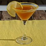 Lemon Ginger Tea Martini