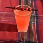 Pear and Cranberry Orange Cocktail #SundaySupper