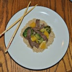 Clean Eating for Busy Families Review + Orange Peel Beef & Broccoli Stir-Fry