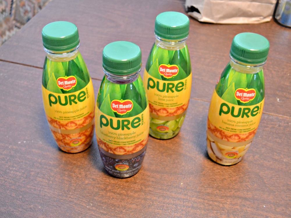Del Monte Pure Earth Juices