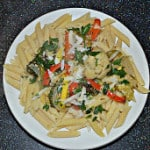Herb and Parmesan Roasted Vegetable Pasta
