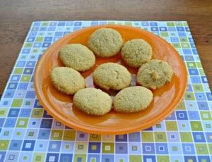 Almond Bon Bon Cookies
