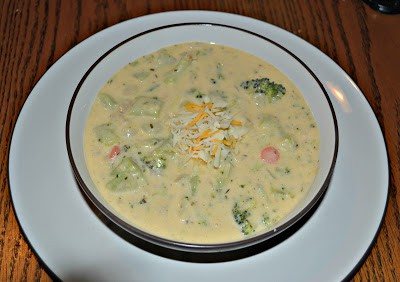 Thick and creamy Broccoli Cheddar Soup