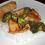 Tofu with Garlic and Broccoli: Meatless Monday