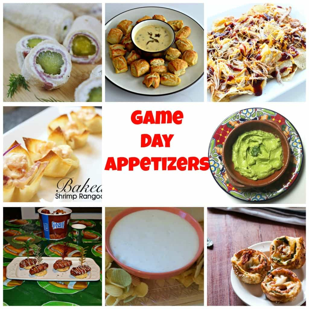 15 fabulous Game Day Appetizers