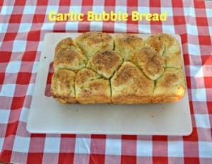 Garlic Bubble Bread:  What's Baking?