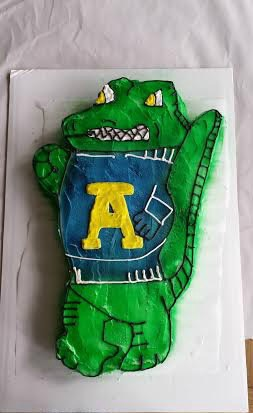 Allegheny Alligator Groom's Cake!