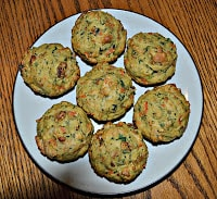 Spiced Carrot Kale Muffins