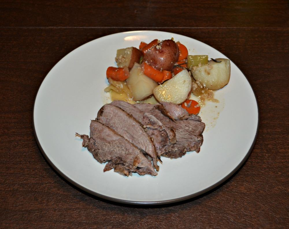 Delicious Leg of Lamb and Vegetables makes enough for a crowd